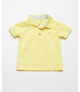FINA EJERIQUE BOYS YELLOW POLO SWIM SET
