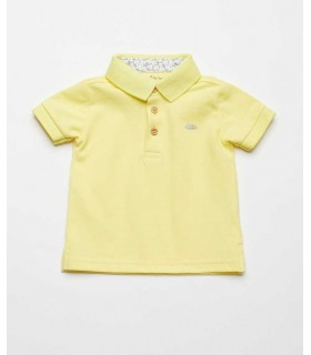 FINA EJERIQUE BOYS YELLOW POLO