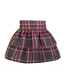EVE CHILDREN GIRLS SKIRT TARTAN