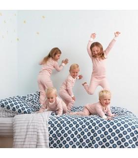 Pijama 100% algodón orgánico rosa OM Home