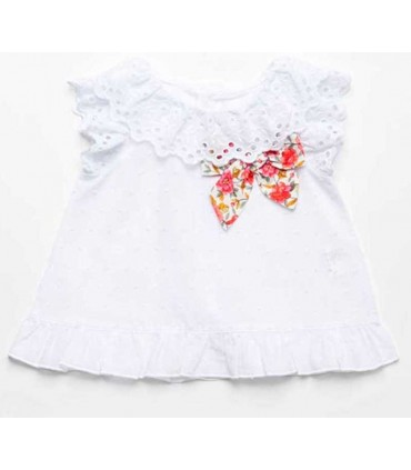 FINA EJERIQUE GIRLS WHITE BLOUSE