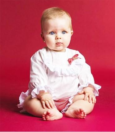 ROCHY BABY GIRLS SET MOTITAS