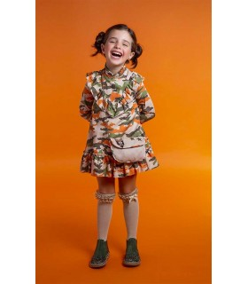 ROBE PETITE FILLE CAMOUFLAGE ROCHY