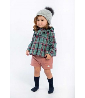 COCOTE GIRL RED CHECKED SET