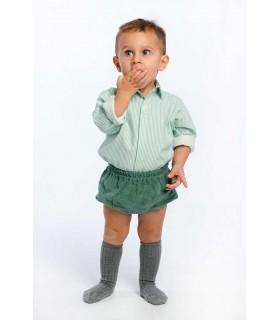 COCOTE BABY BOY GREEN SHORTS