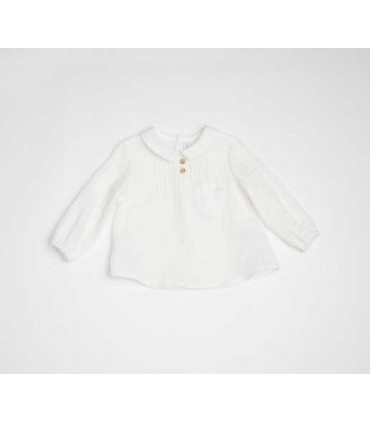 FINA EJERIQUE BOYS WHITE SHIRT