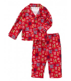 Numbers red pajamas Absorba