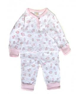 Pijama dos piezas 100% algodón