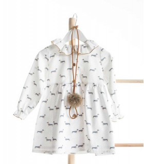 KIDS CHOCOLATE GIRLS NECKLACE WHALES