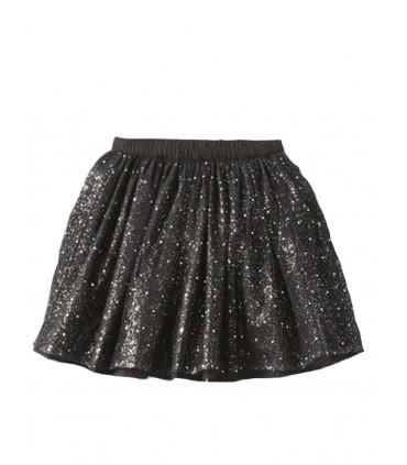 Girls Black Sparkle skirt