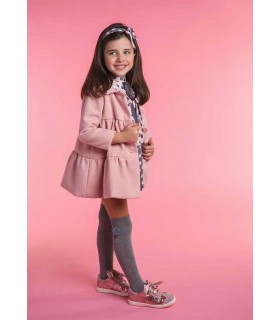 ROCHY GIRLS PINK COAT