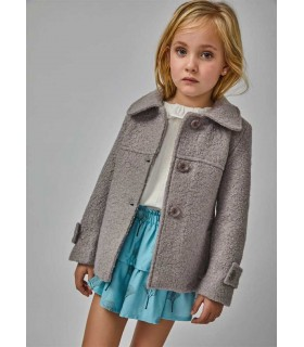 MANTEAU PETITE FILLE PALE EVE CHILDREN