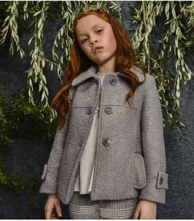 EVE CHILDREN GIRLS COAT PALE