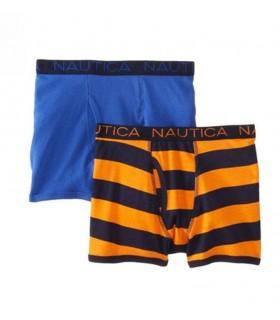 2 Pack Boys Boxers Nautica