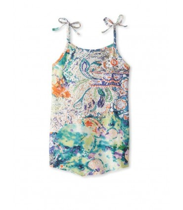 Sleeveless girls dress