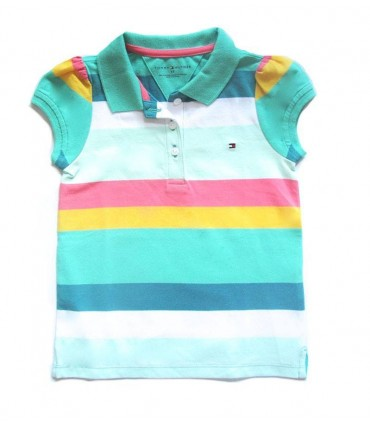 Polo petite fille Tommy Hilfiger