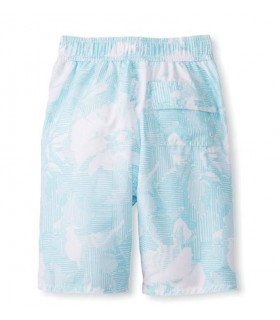 Bañador niño flores azul Hang Ten
