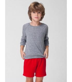 Pantalón corto de deporte rojos American Apparel