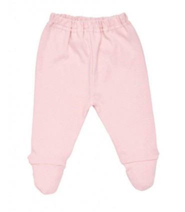 100% organic cotton baby pink pants Under The Nile