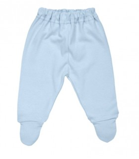 100% organic cotton baby blue pants Under The Nile