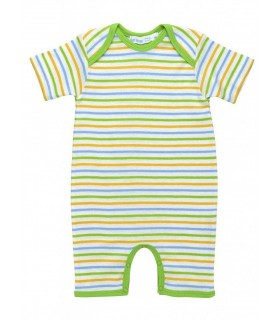Short sleeves Baby romper Under the Nile 100% organic cotton