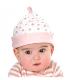 Gorrito reversible Under the Nile en rosa