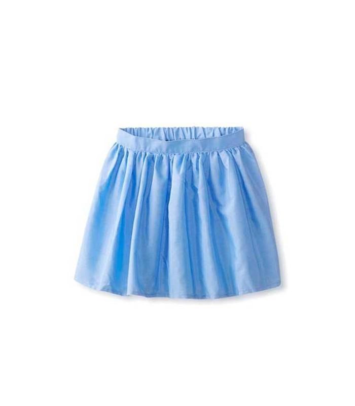 Falda azul niña American Apparel
