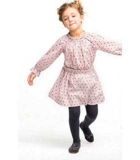 Ensemble petite fille: chemise Frida y jupe étoiles Nueces Kids