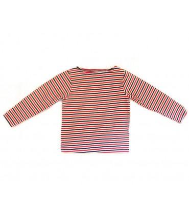 Camiseta de rayas manga larga American Apparel