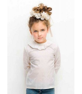 Plumetti shirt for girls Nueces Kids