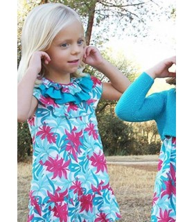 Ancar Girls Flowered dress