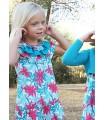 Vestido niña estampado floral Ancar