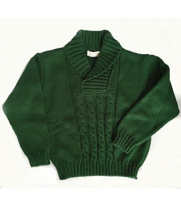MARTA Y PAULA green sweater