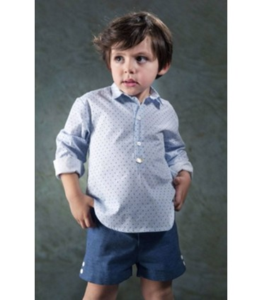 Jose Varon green dots boy set