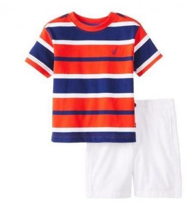 Ensemblé T-shirt et bermudas Nautica