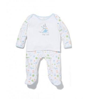 2 pieces baby set Absroba 100% cotton