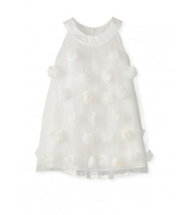 Robe blanc petite fille