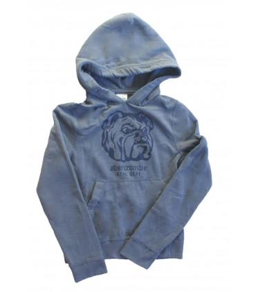 Grey hoodie Abercrombie