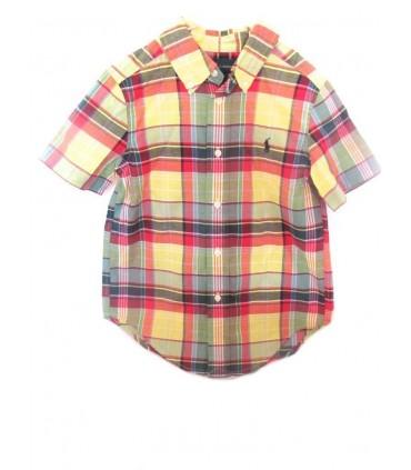 Camisa manga corta niño Ralph Lauren