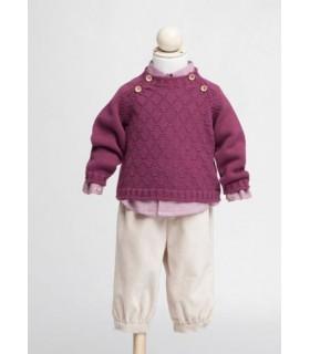 Fina Ejerique burgundy jumper