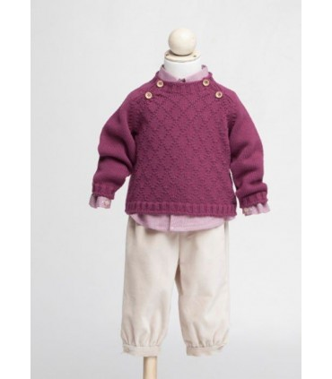 Fina Ejerique burgundy jumper