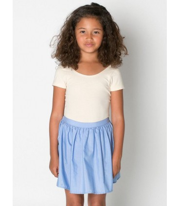 Falda azul American Apparel