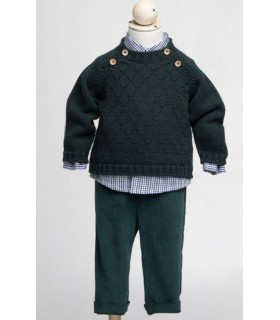 Fina Ejerique green trousers for boys