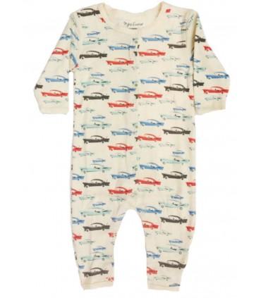 Pijama bebé coches Skylar Luna algodón orgánico