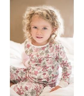 Pyjama petite fille 100% coton organique Skylar Luna
