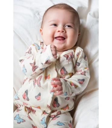 Skylar Luna: baby pajamas. Organic cotton