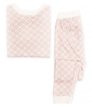Pyjama 100% coton OM Home rose
