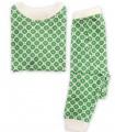 Pijama 100% algodón orgánico verde OM Home