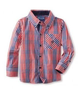 Camisa roja a cuadros Niño Andy & EVAN