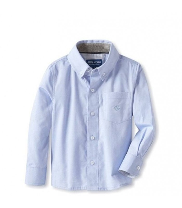 Camisa azul niño Andy & EVAN